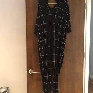 Nordstrom Pants - Black white pattern jumpsuit